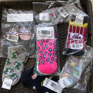 Brand New, Forever 21, Sock Bundle